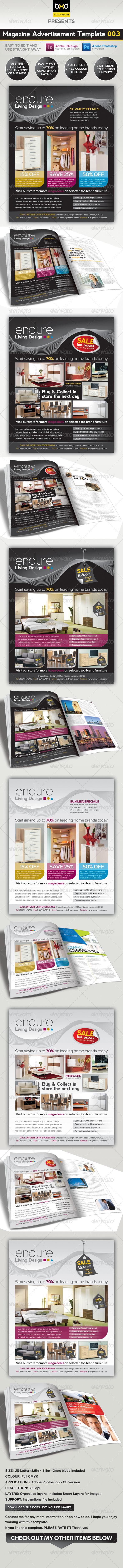 Magazine Advert Template 003 - Corporate Flyers