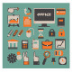 Set of Vector Office Icons - GraphicRiver Item for Sale