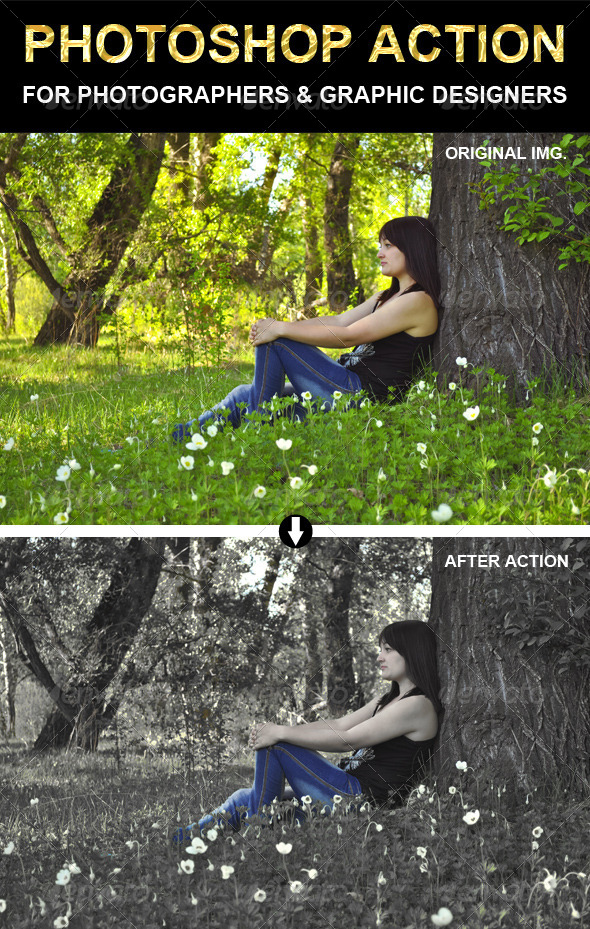GraphicRiver Photoshop Action 6614963