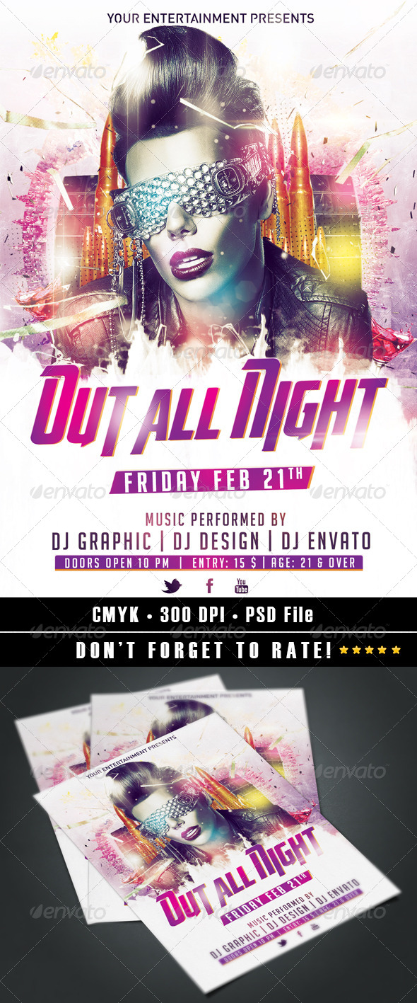 GraphicRiver Out All Night 6615025