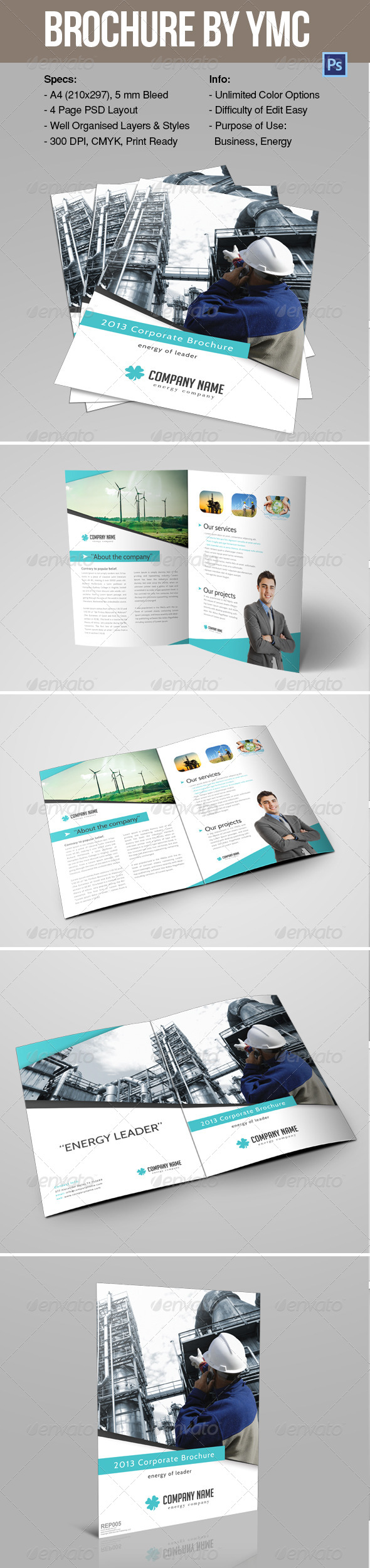 GraphicRiver Brochure 6592342