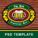 The Pub PSD Template