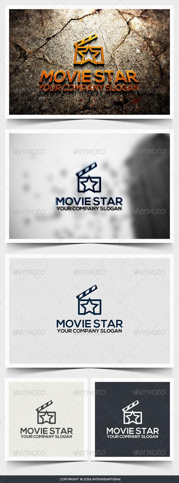 GraphicRiver Movie Star Logo Template 6617049
