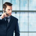 Young businessman talking on the phone - PhotoDune Item for Sale