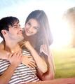 Couple having fun in the park - PhotoDune Item for Sale