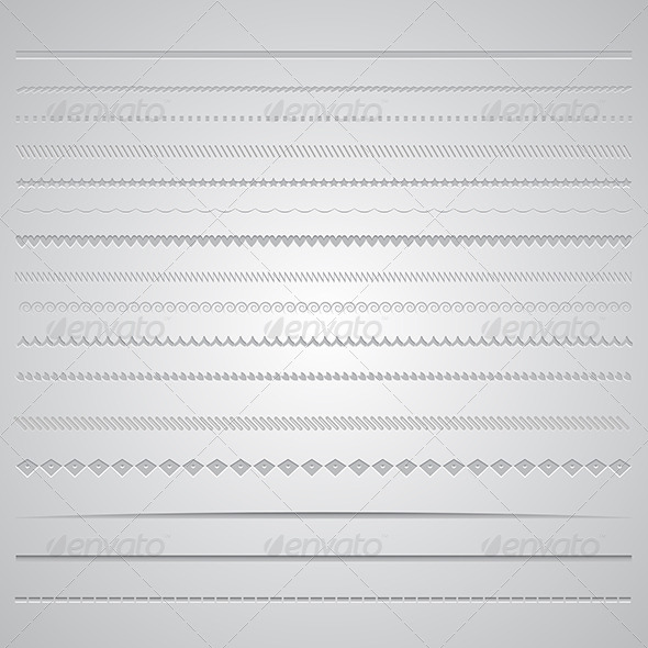 GraphicRiver Page Dividers 6617462