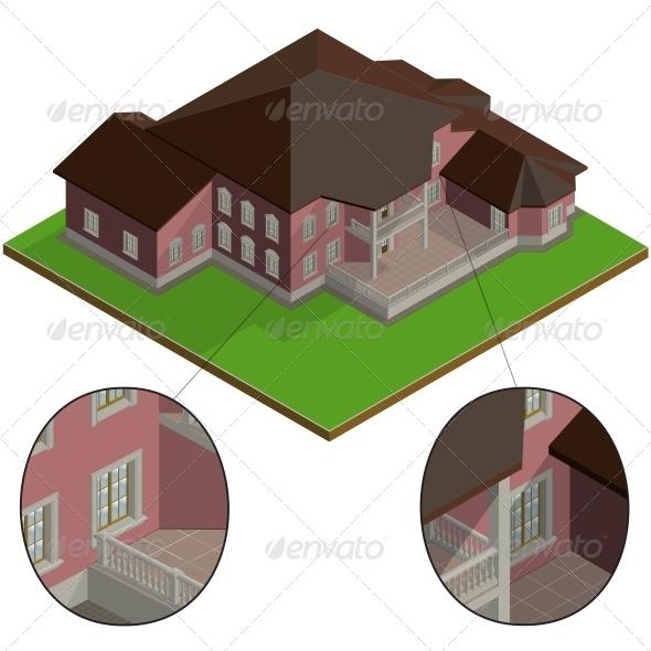 Isometric Villa