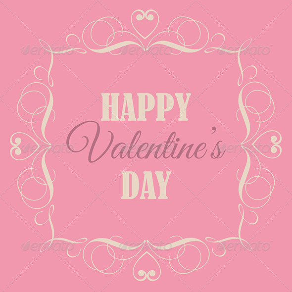 GraphicRiver Valentine s Day Background 6617479