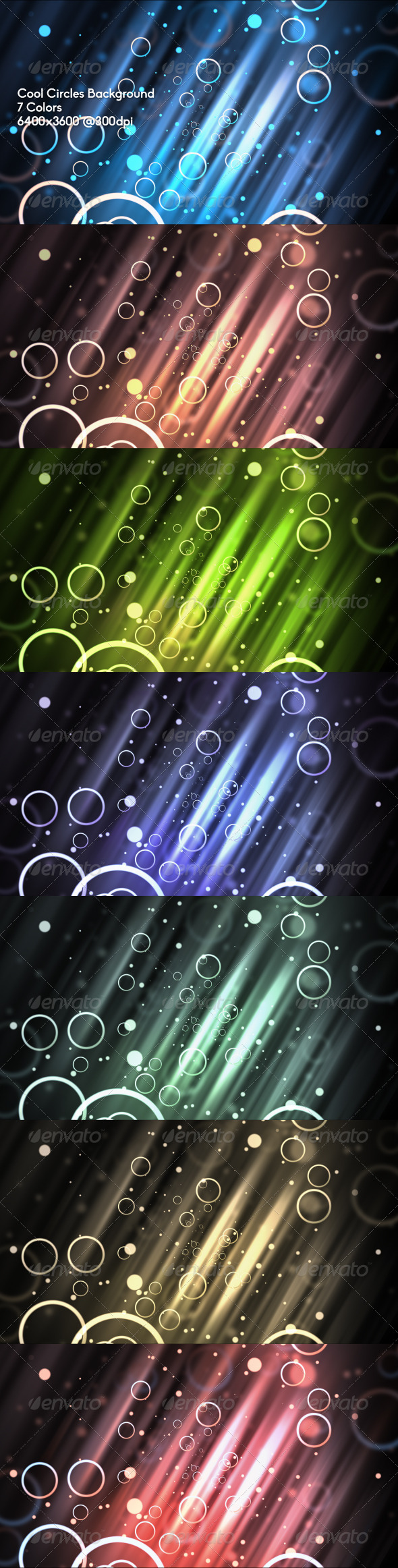 GraphicRiver Cool Circles Background 6617483