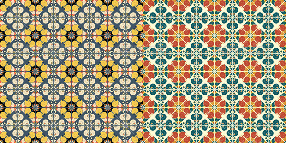 GraphicRiver Abstract Seamless Patterns 6617533