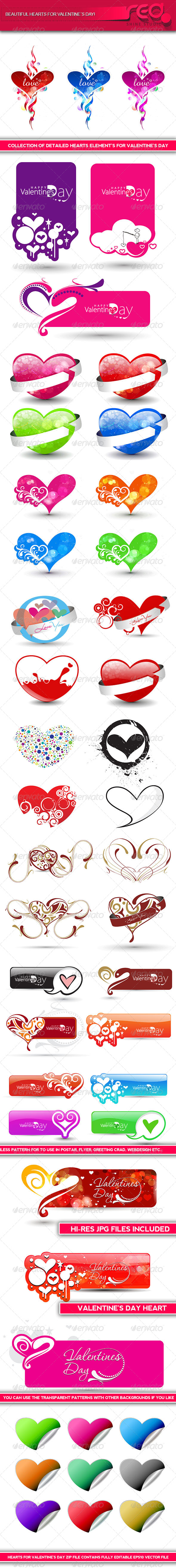 GraphicRiver Valentine s Day Heart Shape 6617542