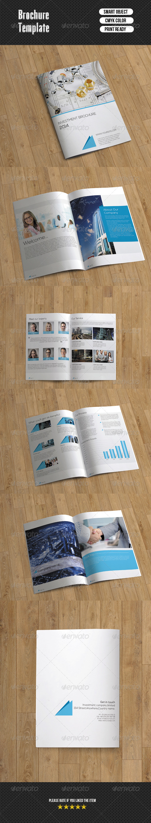 Bifold Brochure-Business 10 Pages