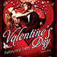 Valentine's Day Flyer Template - GraphicRiver Item for Sale