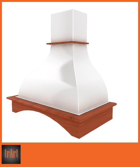 3DOcean Realistic Kitchen hood 6617864