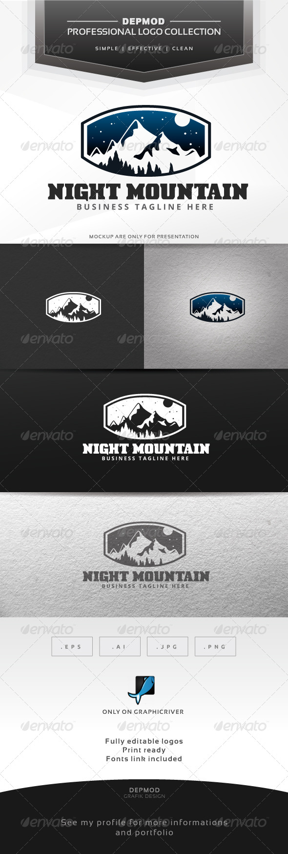 Night Mountain Logo