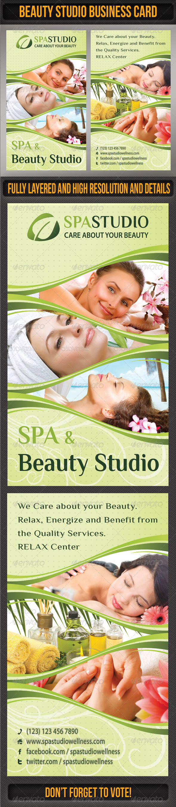 GraphicRiver Spa Studio Business Card 04 6617917