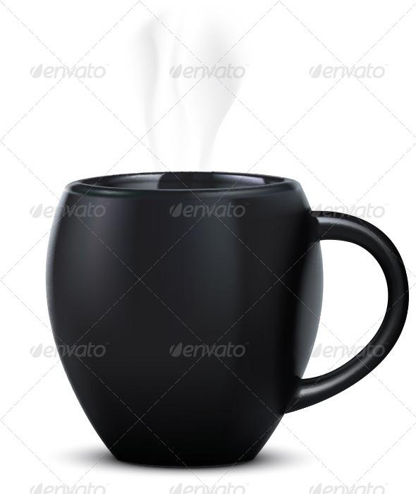 GraphicRiver Mug Isolated on White 6617958
