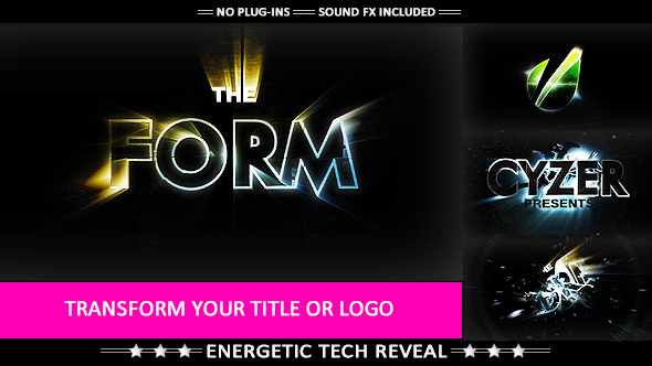 The Form - Hi-tech Impact Logo T-Videohive中文最全的AE After Effects素材分享平台