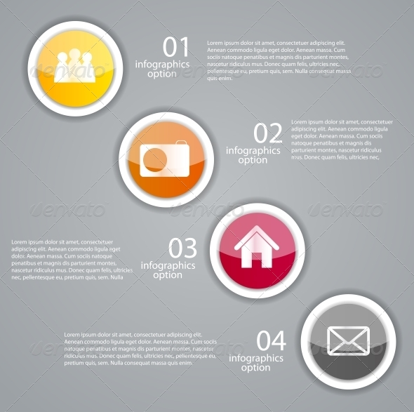 GraphicRiver Infographic Business Template Illustration 6618187
