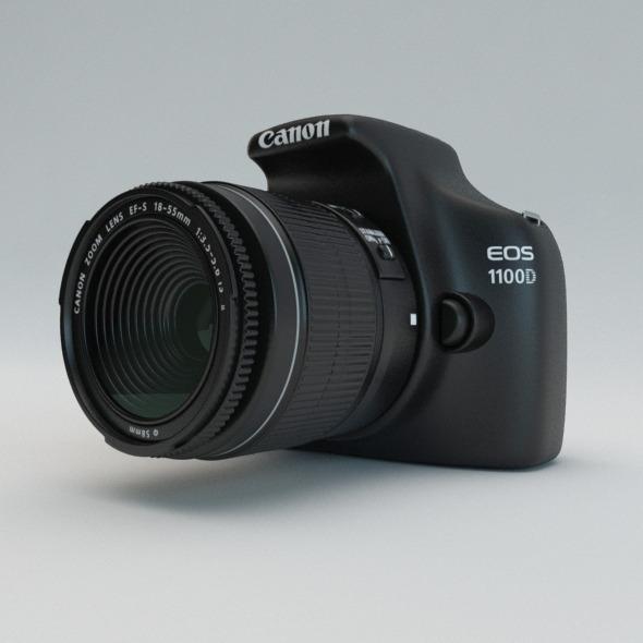 3DOcean Canon EOS 1100D 6618214