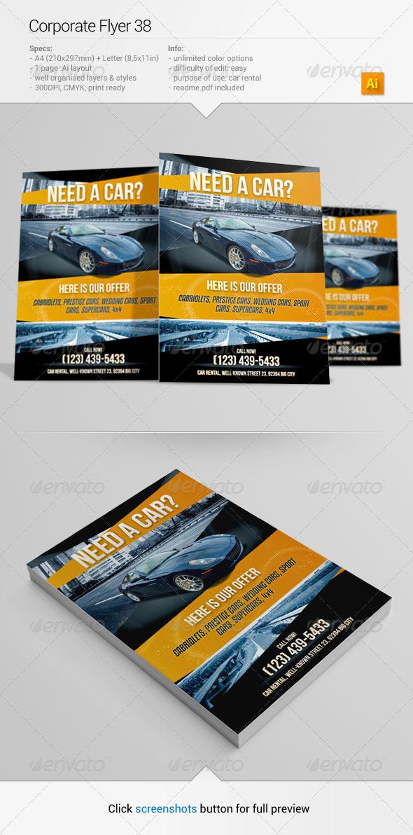 GraphicRiver Corporate Flyer 38 6618215