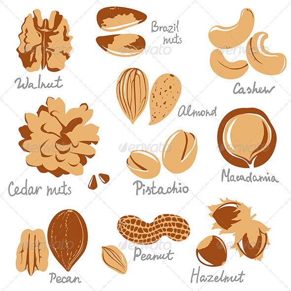 GraphicRiver Nuts 6618299