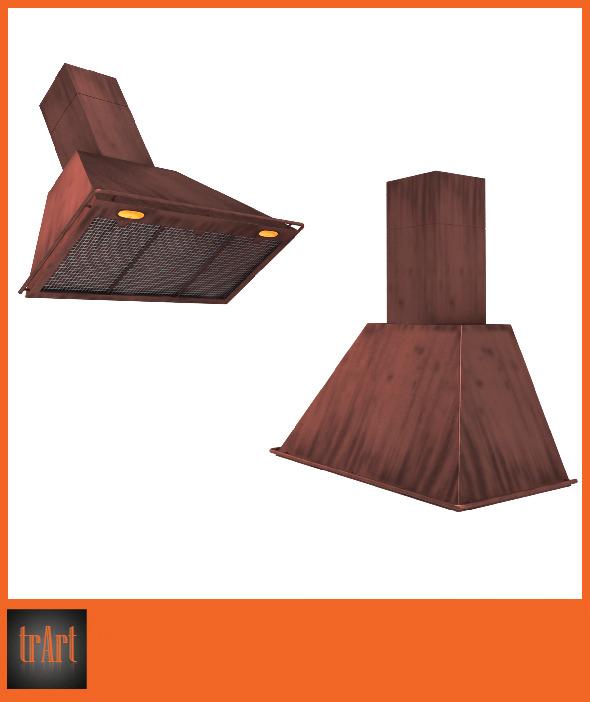 3DOcean Realistic kitchen hood 6618326