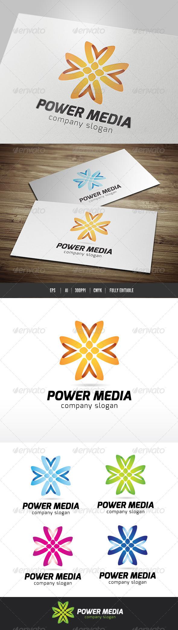 GraphicRiver Power Media 6618329