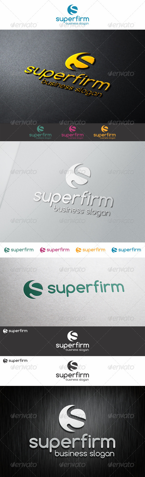 GraphicRiver S Logo Shape Super Firm 6618383