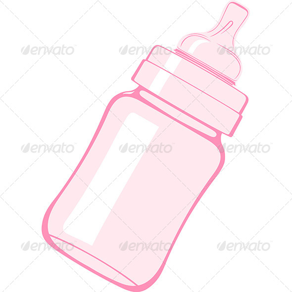 GraphicRiver Baby Bottle 6618772