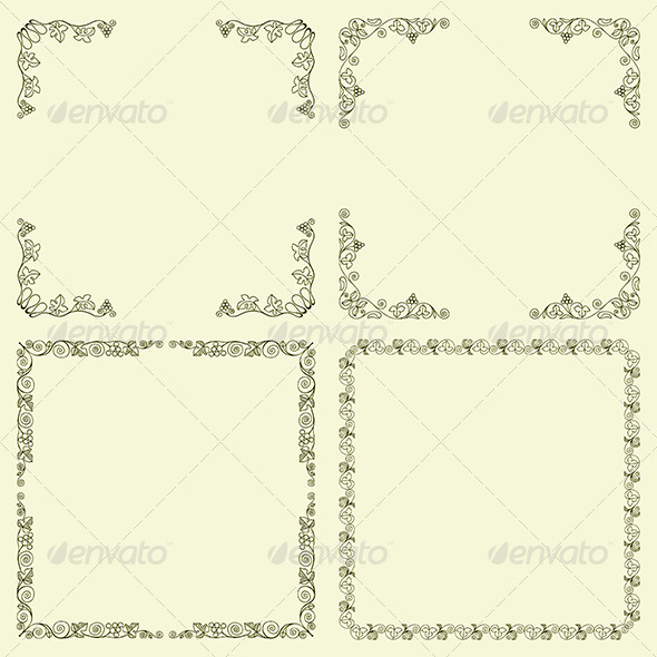 GraphicRiver Decorative Frames 6618874