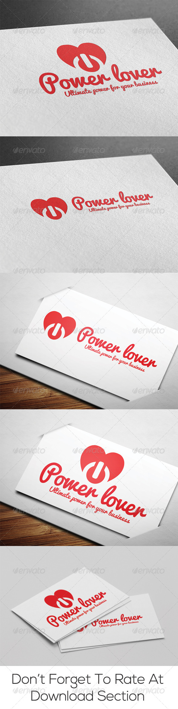 GraphicRiver Power Lover Logo 6615367