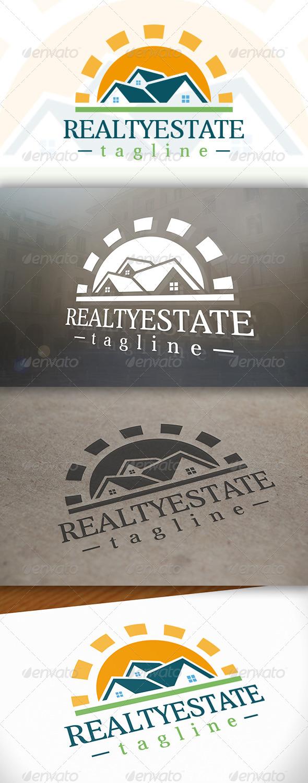 GraphicRiver Sun Real Estate Logo 6619048