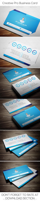 GraphicRiver Creative Pro Business Card 6614894