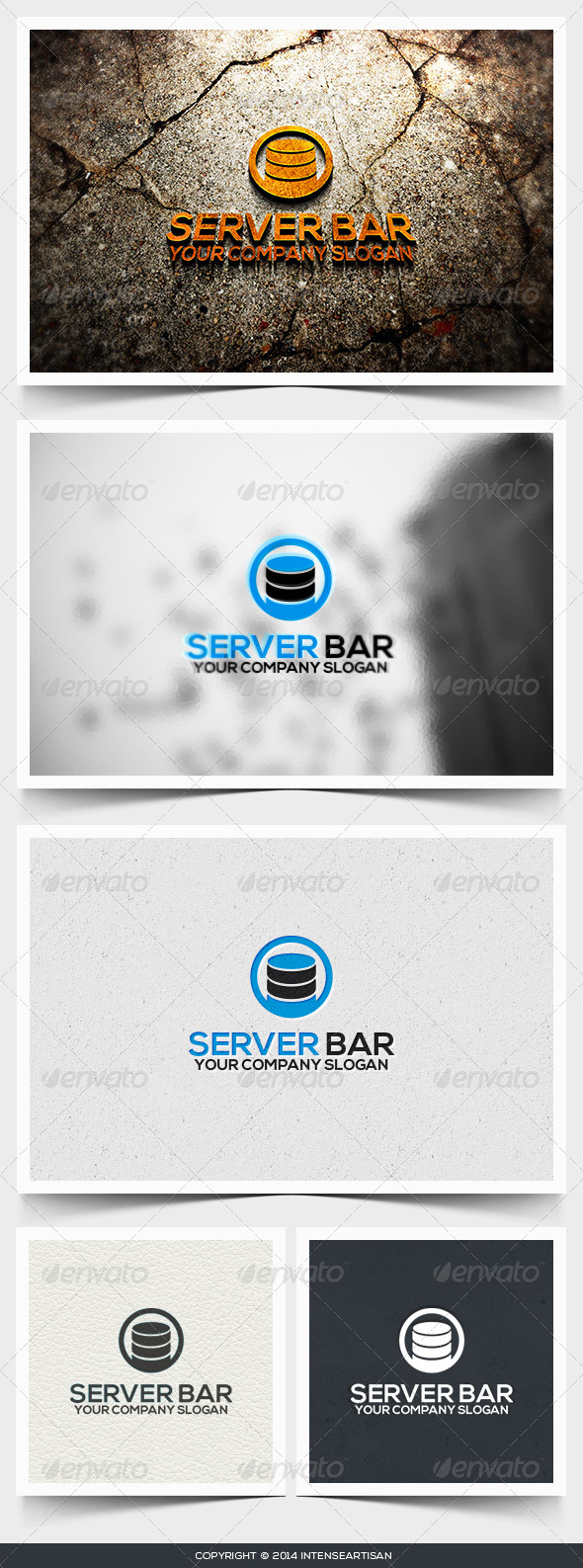 Server Bar Logo Template - Objects Logo Templates