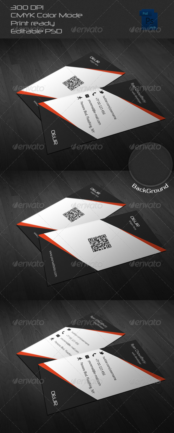 GraphicRiver Corporate Business Card 22 6619431