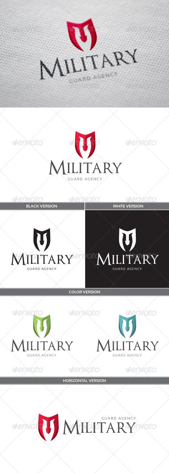 GraphicRiver Military Logo 6619438