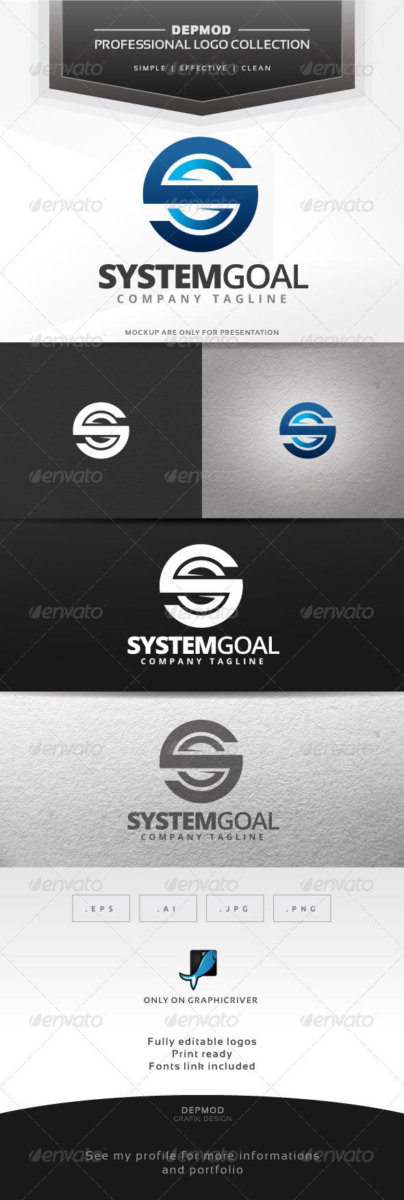 GraphicRiver System Goal Logo 6619459