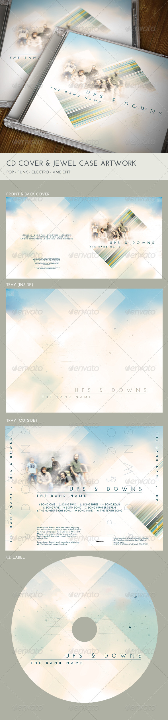 GraphicRiver CD Cover and Jewel Case Artwork 6619477