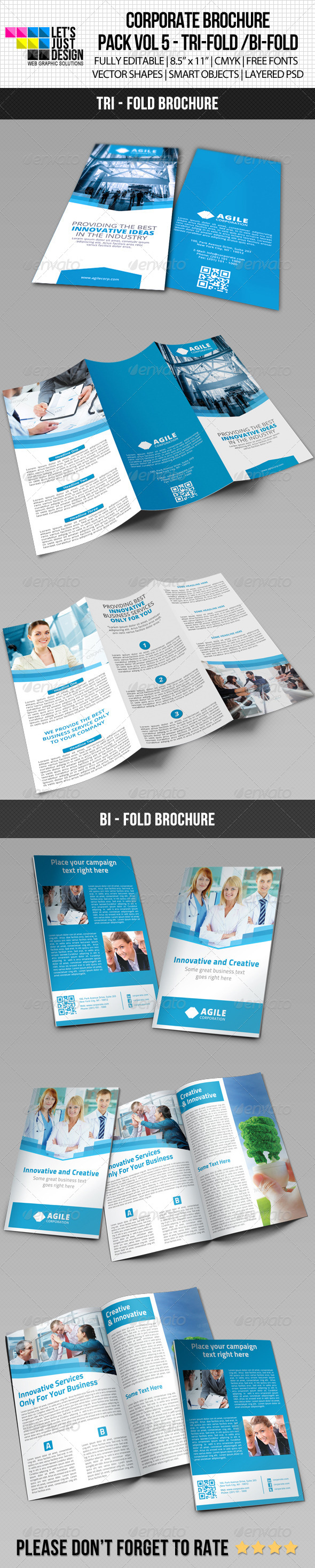 GraphicRiver Creative Corporate Brochure Pack Vol 5 6619559