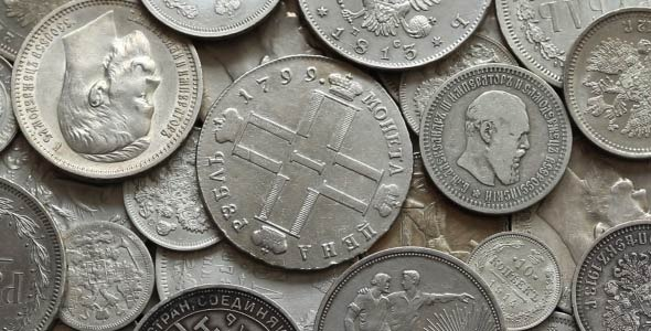 Silver Coins Imperial Russia