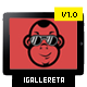 IGallereta – Mobile App Sales Page