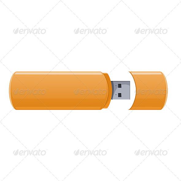 GraphicRiver USB Flash Memory 6619717