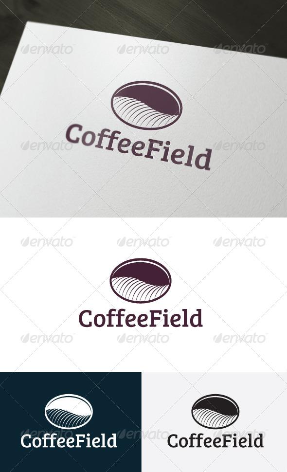 GraphicRiver Coffee Field Logo 6619752