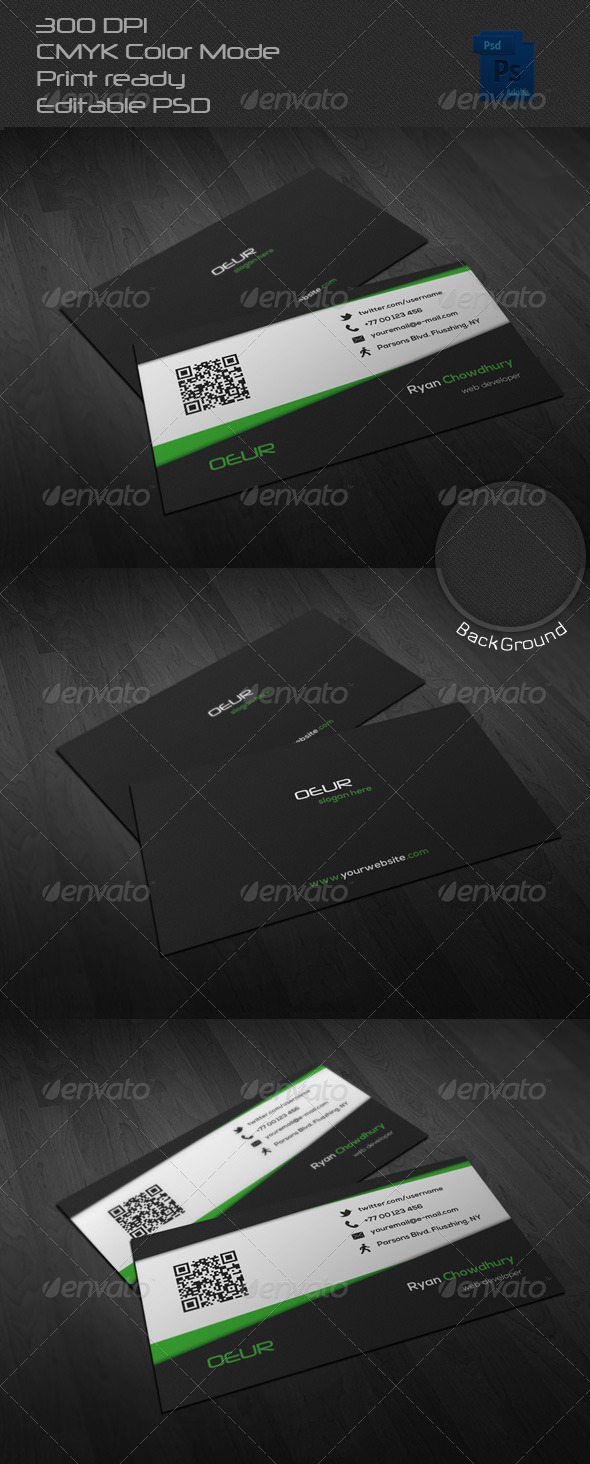 GraphicRiver Corporate Business Card 23 6619805