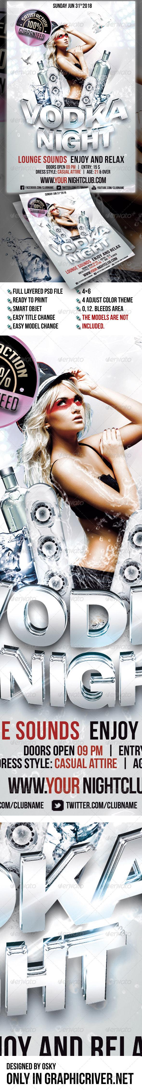 GraphicRiver Vodka Night III 6612030