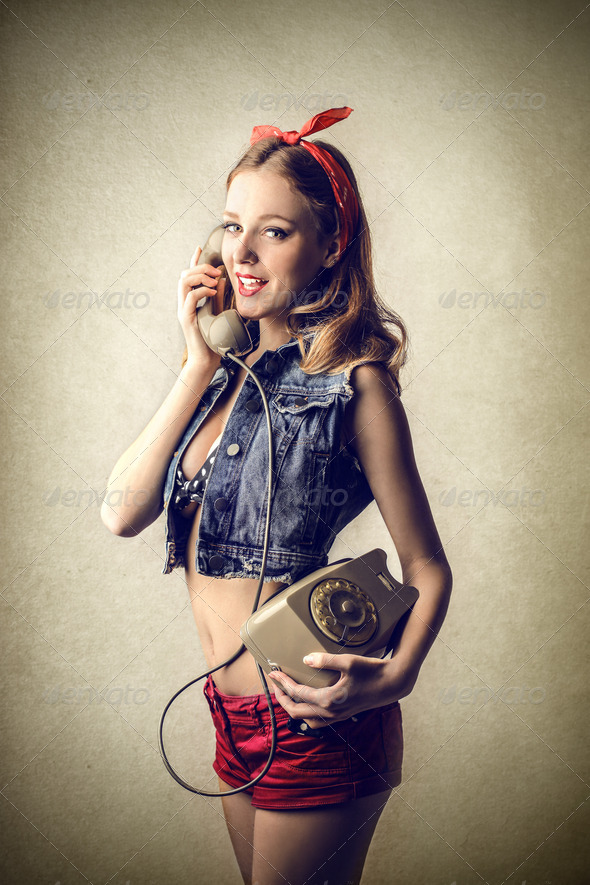 pinup - Stock Photo - Images