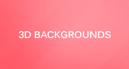 3D Backgrounds