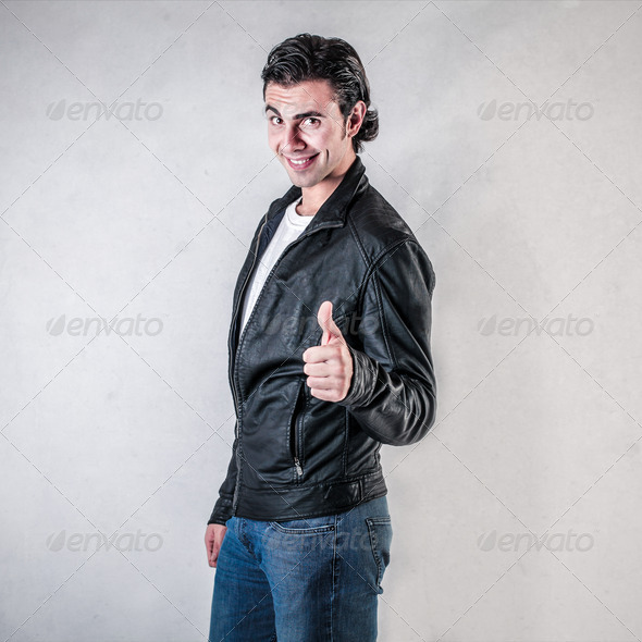 60s guy - Stock Photo - Images