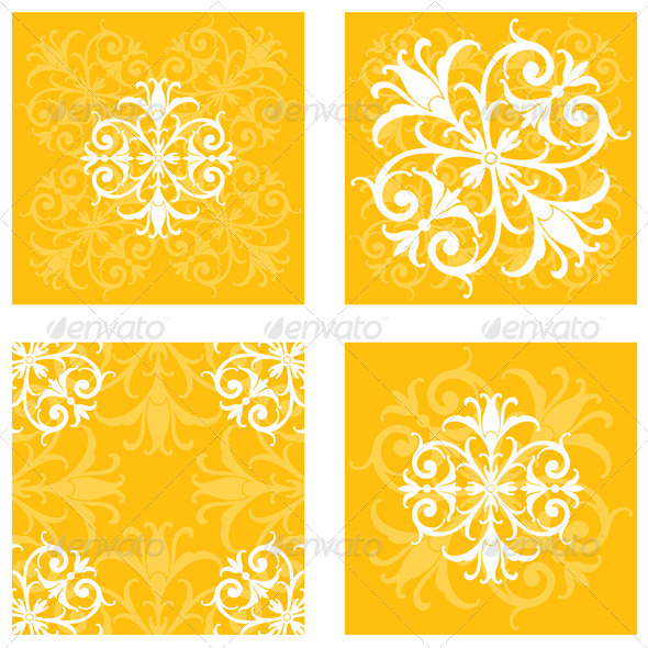GraphicRiver Floral Tile Patterns 6620654